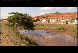 Lagoa é revitalizada no Bairro Penha em Governador Valadares - Equipe de reportagem da Inter TV esteve no local há um ano.