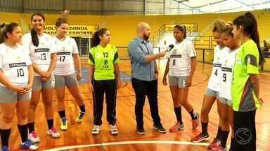 Volta Redonda recebe finais dos Jogos Abertos do Interior - Confrontos do handebol e do vôlei foram disputadas neste sábado.