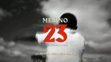 Morador de Foz assiste à história triste da vida dele nas telas do cinema - Ele foi explorado com outros 49 meninos, quando garoto