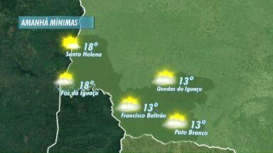 Pode chover amanhã em Foz - Chuva esta prevista para o fim do dia