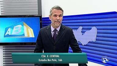 Central e Serra Talhada entram em campo pela Série D - Central vai jogar contra o CSA, em Alagoas, enquanto o Serra Talhada encara o Potiguar, em casa.