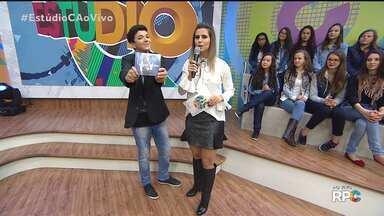 Wagner Barreto lança o CD novo no Estúdio C - Campeão do The Voice Kids conta com a participação de Victor & Leo e da Luna Bandeira, que também participou do reality
