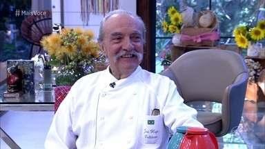 Conheça a história de José Hugo Celidônio - Chef toma café da manhã na Casa de Cristal com Ana Maria Braga