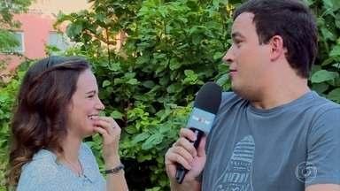 Confira o teste de amizade entre Bianca Bin e Rainer Cadete - Atores interpretam o casal Maria e Celso na novela 'Êta Mundo Bom!'. Os dois são amigos na vida real e mostram que sabem tudo da vida um do outro