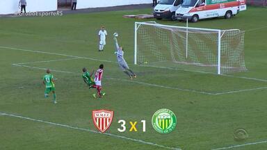 Confira os resultados dos times gaúchos na Série C e D - Assista ao vídeo.