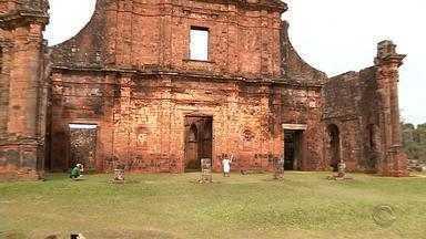 Tocha Olímpica é levada para a Região Noroeste do RS - Foram visitas as cidades de São Miguel das Missões, Ijuí, Cruz Alta e Santo Ângelo.
