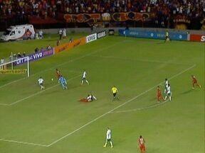 Palmeiras vence o Sport - Jogo foi na Ilha do Retiro.