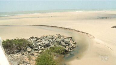 Laudo diz que balneabilidade das praias de São Luís é imprópria para banho - Laudo diz que balneabilidade das praias de São Luís é imprópria para banho