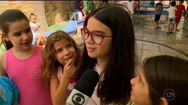 As colônias de férias são opção para a diversão para as crianças em Petrolina - Elas oferecem atividades recreativas para a garotada
