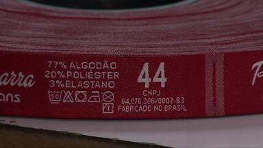 Saiba a importância das etiquetas para as roupas - Símbolos indicam como elas devem ser lavadas.