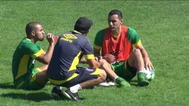 Rafael Marques treina em São Januário e deve estrear contra o Brasil de Pelotas - Com Martín Silva suspenso, o Cruzmaltino vai para o jogo com Jordi no gol.