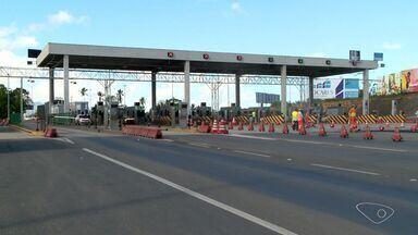 Pedágio é assaltado na BR-101, na Serra, ES - Um dos suspeitos conseguiu fugir e o outro foi detido e levado para a Delegacia Regional, em Laranjeiras