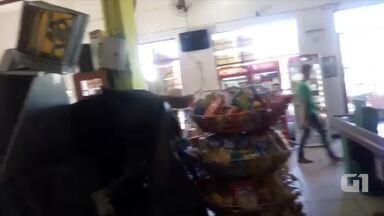 Criminosos explodem caixa eletrônico em supermercado de Porto Nacional - Criminosos explodem caixa eletrônico em supermercado de Porto Nacional