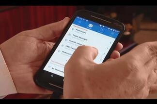 Aplicativo 'Moovit' de transporte coletivo atinge 80 mil usuários em Uberlândia - Disponível há um ano, app é gratuito e funciona em tempo real. Ferramenta possibilita mapear rota dos ônibus.