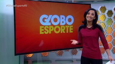 Confira a íntegra do Globo Esporte RS desta quarta (6) - Programa destaca as mudanças na dupla Gre-Nal após o clássico 410 e o tour da Tocha Olímpica no RS.