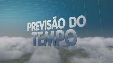 Previsão do tempo para esta quinta-feira é de chuva - Temperaturas em Campinas (SP) ficam entre 13°C e 28°C.
