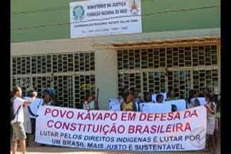 Cerca de 100 índios ocuparam sede da Funais, no sudeste do Pará - São índios da etnia Kayapó, do município de Tucumã.