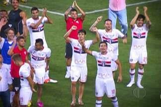 Semifinal da Libertadores da América - O Campeonato Nacional está parado, pois nesta quarta (6) tem semifinal da Libertadores.