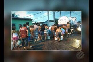 Cerca de 70% dos moradores do bairro do Parque Verde estão sem água há quatro dias - São moradores de quatro conjuntos habitacionais.