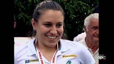 Atleta de Marialva é convocada para os Jogos Olímpicos - Mayara Moura vai jogar pela seleção brasileira de handebol