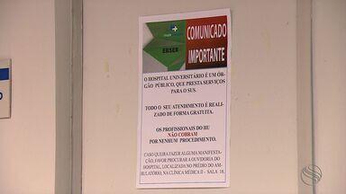 Quadrilha tenta aplicar golpe em pacientes do Hospital Universitário - Quadrilha tenta aplicar golpe em pacientes do Hospital Universitário.