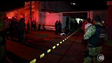 Empresários se reúnem com autoridades e pedem segurança no Centro - Empresários se reúnem com autoridades e pedem segurança no Centro