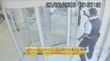 Polícia conclui inquérito e vigilante é indiciado por homicídio duplamente qualificado - Polícia conclui inquérito e vigilante é indiciado por homicídio duplamente qualificado em Joinville