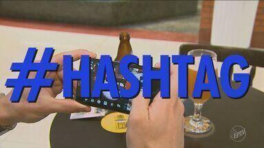 Quadro Toque-Tec fala da mania das hashtags - Elas estão principalmente nas redes sociais.