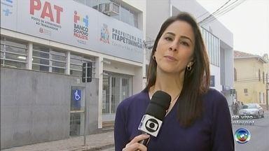 PAT de Itapetininga divulga oportunidades de emprego - A região de Itapetininga concentra a maior oferta de vagas nesse momento. Tem mais de 200. Veja mais informações com Luciana Campinhos.