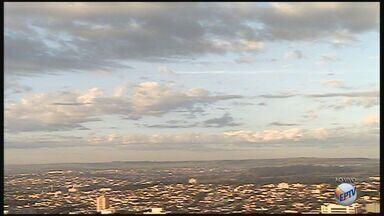 Temperatura cai nesta quinta-feira (7) na região de Ribeirão Preto - Fim de semana deve ser mais frio, sem previsão de chuva.