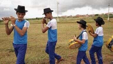 """Quadro """"Cariri em Cena"""" apresenta a banda Cabaçal mais tradicional de Juazeiro do Norte - Cariri em Cena"""