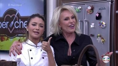 Carol Oliveira é eliminada no Super Chef Celebridades 2016 - Atriz seguirá participando dos workshops do reality e terá a oportunidade de voltar à disputa em uma repescagem