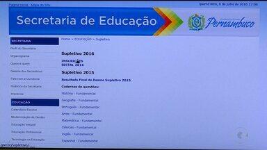 Secretaria Estadual de Educação abriu inscrições para exame supletivo 2016 - A oportunidade é para pessoas que não concluíram o ensino médio