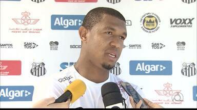 Rodrigão mantém a sina de gols no Santos - Ex-atacante do Campinense segue marcando e conquista a confiança do técnico Dorival Júnior