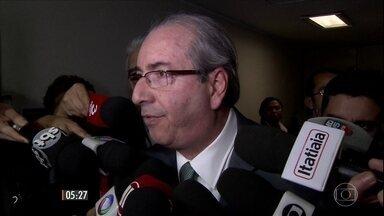 Eduardo Cunha sofre mais uma derrota na Câmara dos Deputados - A Comissão de Constituição e Justiça rejeitou o recurso do peemedebista contra o pedido de cassação do mandato dele. Cunha agora vai ter que enfrentar a votação no plenário.