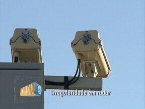 Ipem constata erro e lacra radar em Pres. Prudente - Equipamento fica na Av. Manoel Goulart.