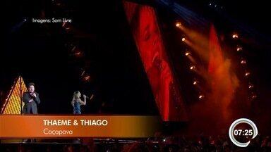 Confira os destaques da Agenda Cultural para o fim de semana - Dupla Thaeme e Thiago está entre as atrações.
