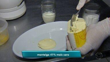 Produtos derivados do leite ficam mais caro e consumidores mudam hábitos - Comerciantes se assustaram e também tiveram que se adequar.