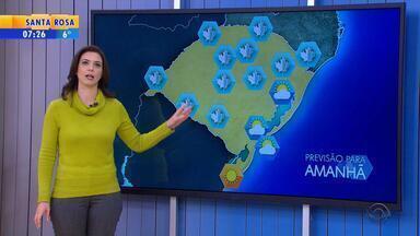Vento moderado deixa sensação térmica mais baixa no RS - Tempo continua seco nesta quarta-feira (20).