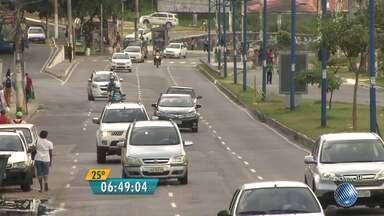 Veja imagens do trânsito nas avenidas Paralela, Vasco da Gama e Luís Eduardo - Confira no Radar do JM.