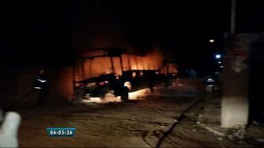 Passageiros convivem com o medo após ataques a ônibus - Na última segunda feira (18) um ônibus foi incendiado no Bairro Ancuri.