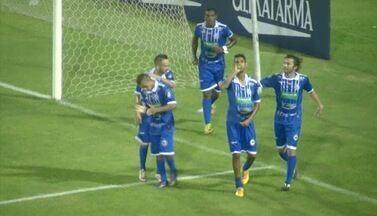 Augusto marca gol para o Parnahyba e homenageia o filho na Série D 2016 - Augusto marca gol para o Parnahyba e homenageia o filho na Série D 2016