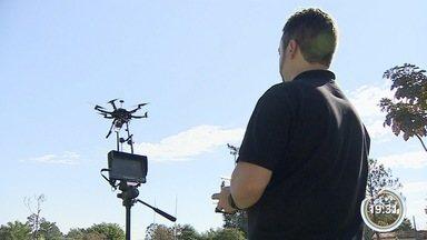 Empresários investem em drones para prestar serviços em São José - Investimento custa a partir de R$ 300.
