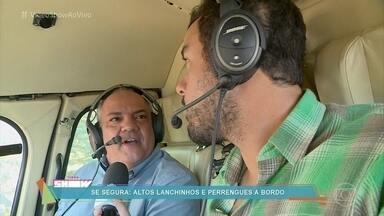 Saiba como é o dia do repórter aéreo Genilson Araújo - Genilson embarca no Globocop diariamente às 5h30 da manhã para dar notícias sobre o trânsito do Rio de Janeiro