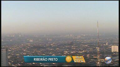 Temperatura sobe e termômetros devem marcar 27ºC na região de Ribeirão Preto - Clima deve permanecer quente e seco no final de semana.
