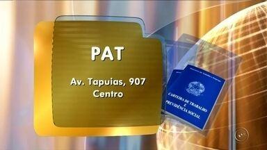 PAT de Tupã oferece vagas de emprego - O Posto de Atendimento ao Trabalhador (PAT) de Tupã (SP) está com vagas de emprego disponíveis para costureira, mecânico de colhedora, mecânico linha pesada, operadora de telemarketing, motorista, farmacêutico, comprador, supervisor de RH. O PAT fica na Avenida Tapuias, 907.