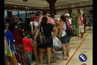 Cerca de 65 mil pessoas devem passar no mês de julho pelo Terminal Hidroviário de Belém - Na primeira semana de julho passaram pelo Terminal Hidroviário de Belém 13.443 passageiros, sendo a média de 2.241 pessoas por dia, ou seja, 172 por hora.