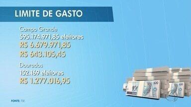 TSE divulga limite de gastos para campanhas políticas - Juiz Eleitoral Wilson Leite Corrêa fala sobre o assunto em entrevista ao Bom Dia MS.