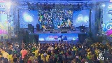 Amazonenses poderão acompanhar jogos olímpicos na Ponta Negra - Uma estrutura similar à usada na copa em 2014 será montada durante evento.