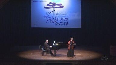 Lages é palco do Festival Internacional Música na Serra - Lages é palco do Festival Internacional Música na Serra